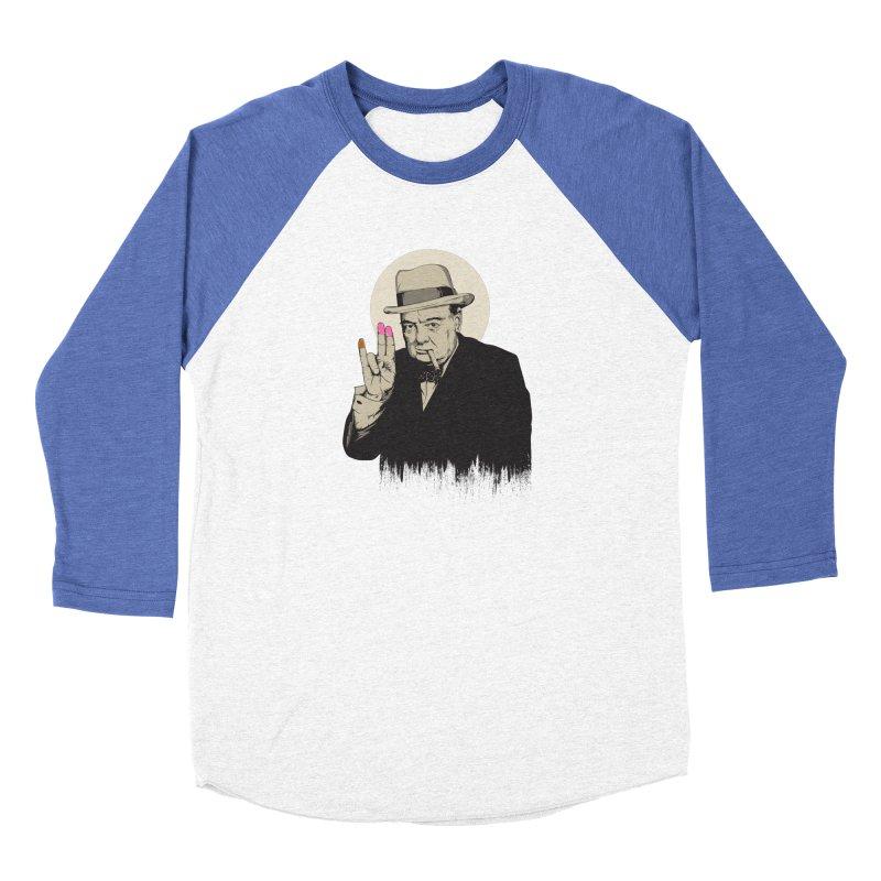 Churchill | The Shoker Women's Longsleeve T-Shirt by Gabriel Mihai Artist Shop