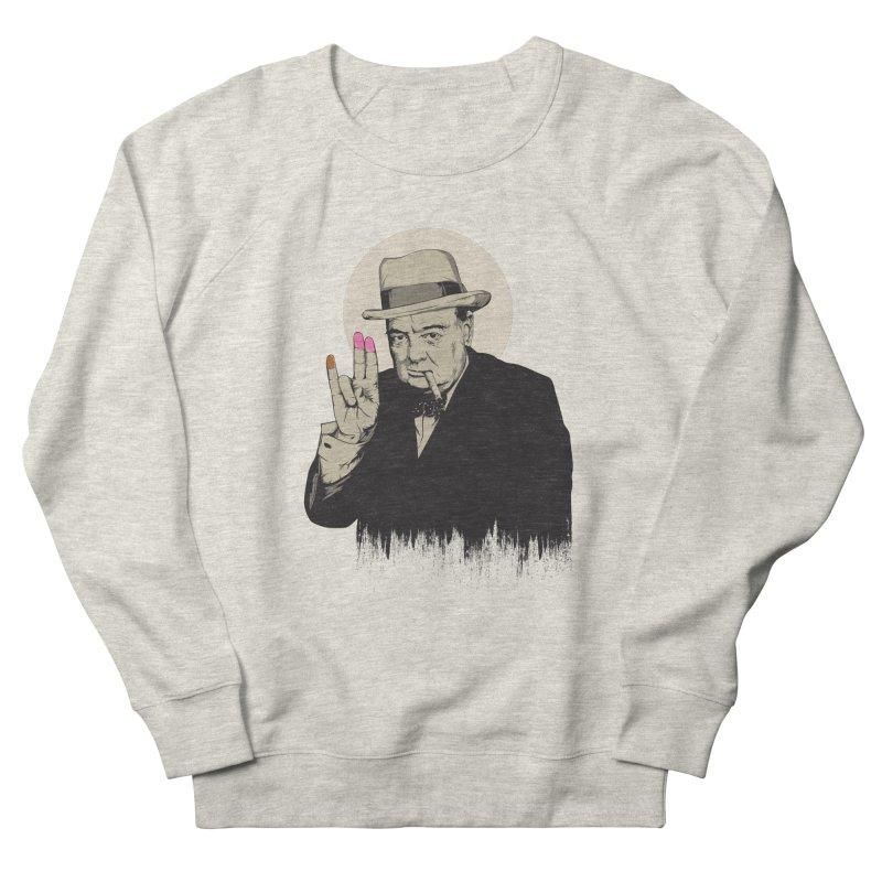 Churchill | The Shoker Women's Sweatshirt by Gabriel Mihai Artist Shop