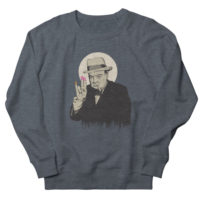 Churchill | The Shoker Men's Sweatshirt by Gabriel Mihai Artist Shop