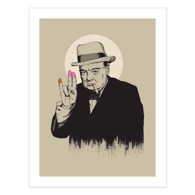 Churchill | The Shoker Home Fine Art Print by Gabriel Mihai Artist Shop