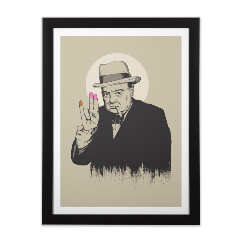 Churchill | The Shoker Home Framed Fine Art Print by Gabriel Mihai Artist Shop