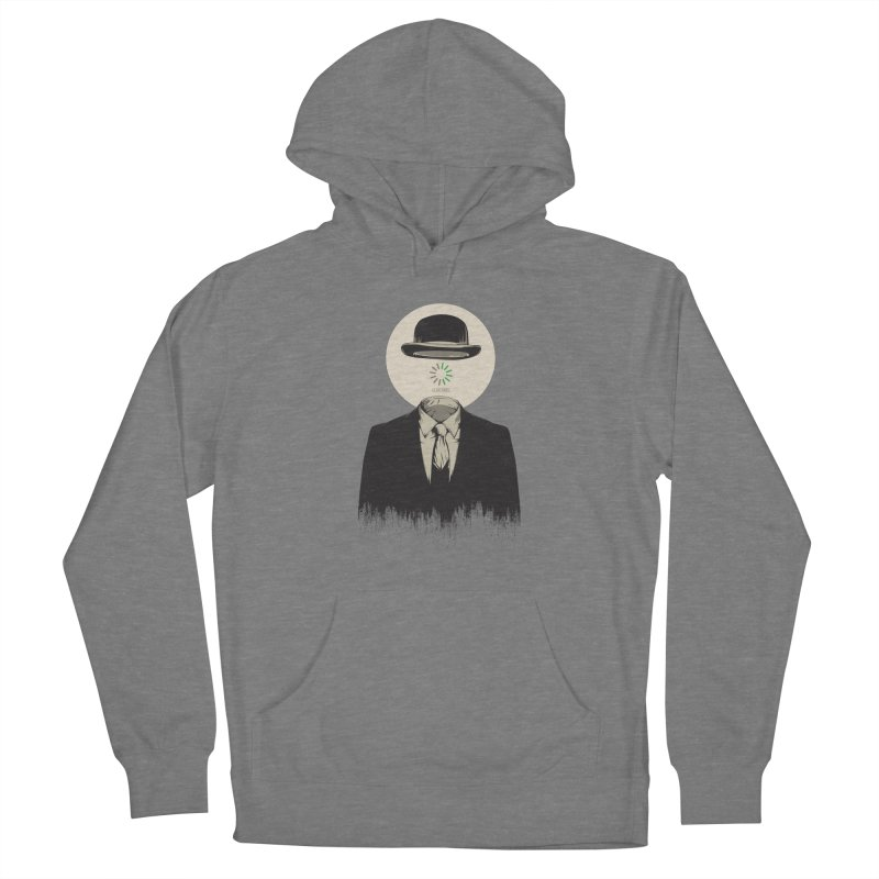 Magritte | The Loading of Man Men's Pullover Hoody by Gabriel Mihai Artist Shop