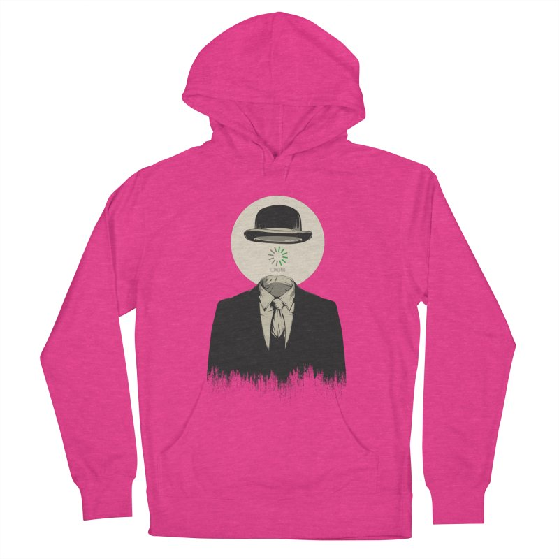Magritte | The Loading of Man Women's French Terry Pullover Hoody by Gabriel Mihai Artist Shop
