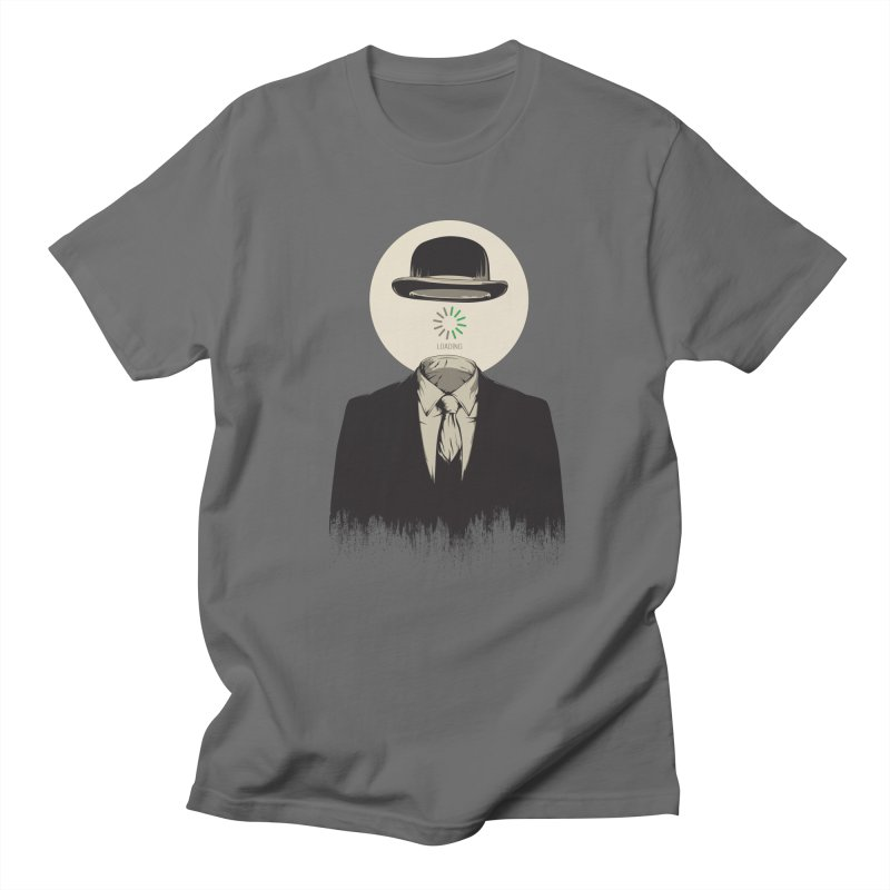 Magritte | The Loading of Man Men's T-Shirt by Gabriel Mihai Artist Shop