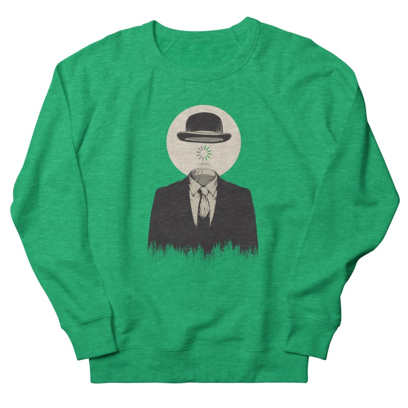 Magritte | The Loading of Man Women's Sweatshirt by Gabriel Mihai Artist Shop