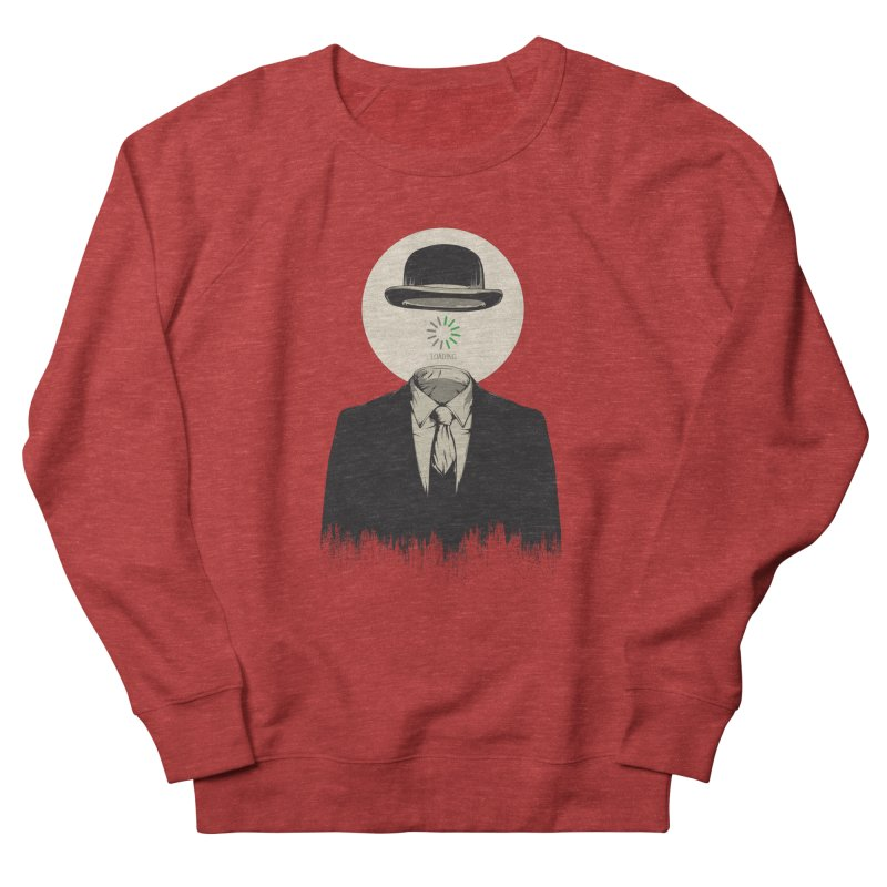 Magritte | The Loading of Man Women's French Terry Sweatshirt by Gabriel Mihai Artist Shop