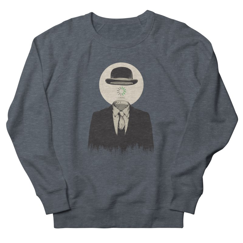 Magritte | The Loading of Man Men's Sweatshirt by Gabriel Mihai Artist Shop