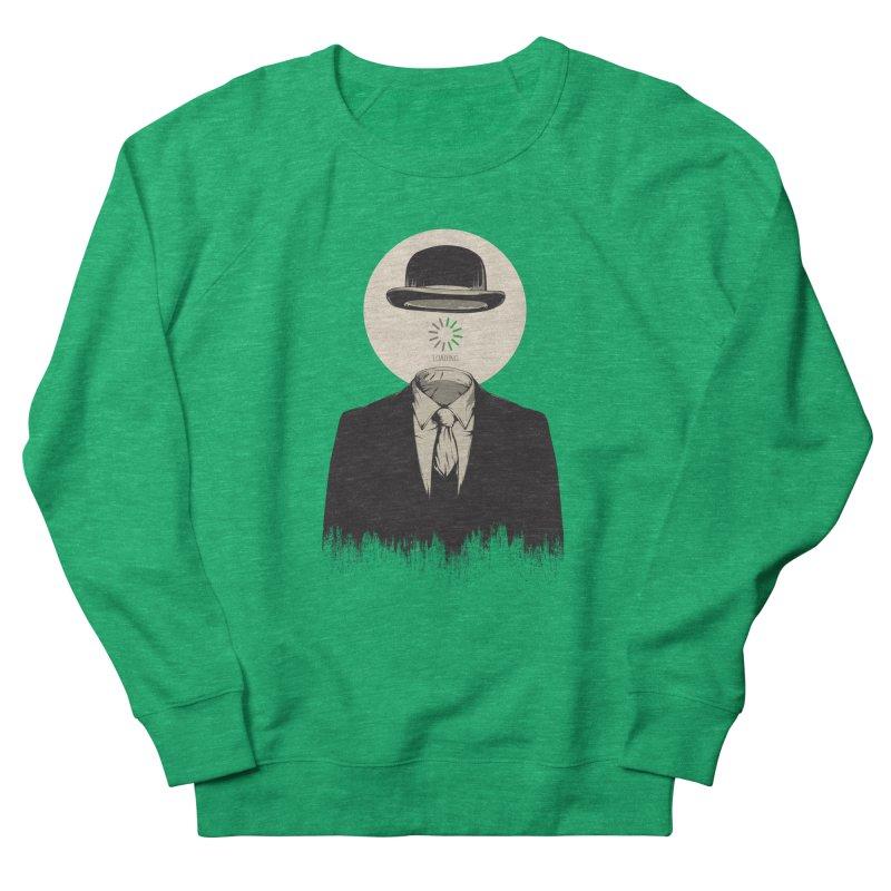 Magritte | The Loading of Man Men's Sweatshirt by Gabriel Mihai Artist Shop