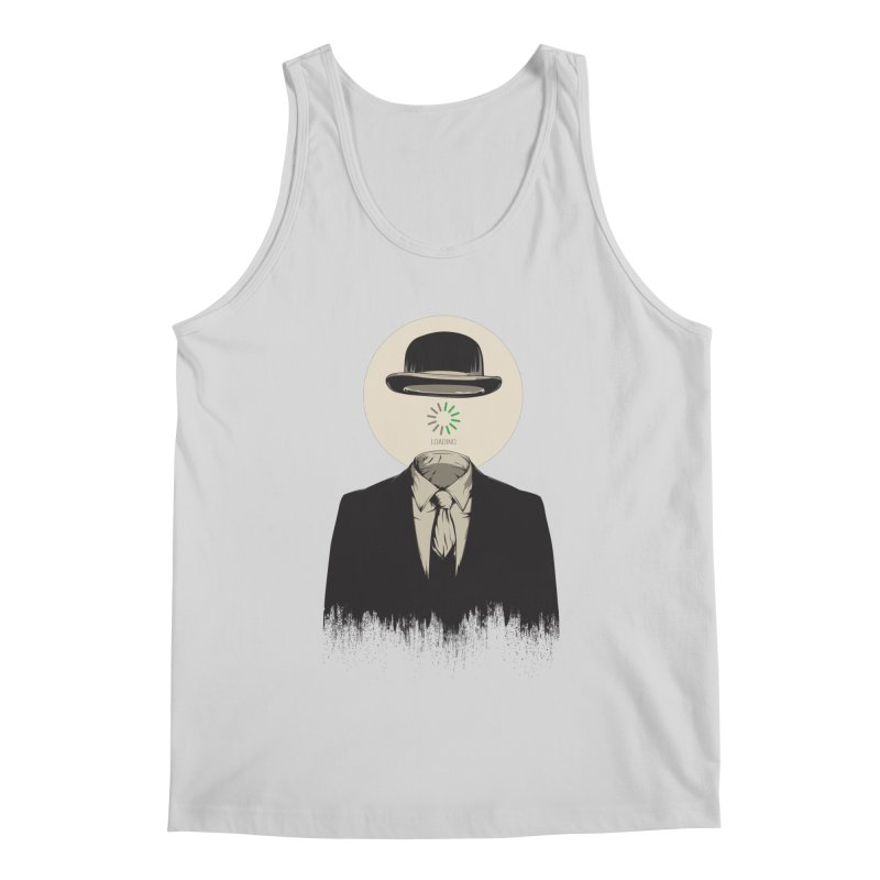 Magritte | The Loading of Man Men's Regular Tank by Gabriel Mihai Artist Shop