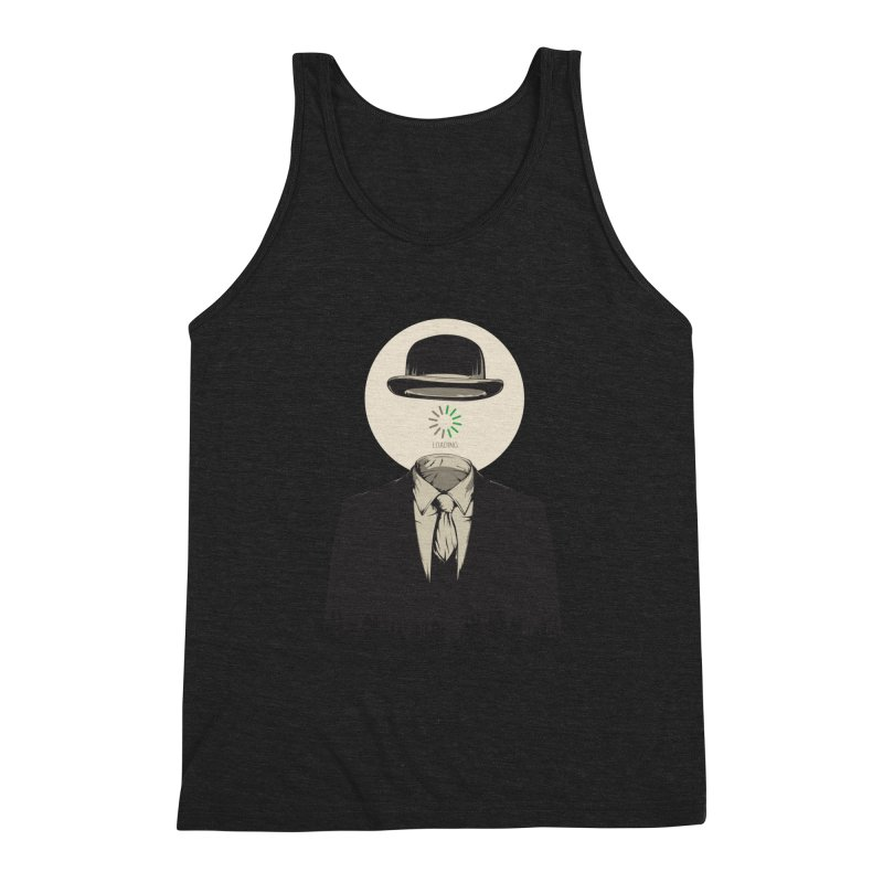 Magritte | The Loading of Man Men's Tank by Gabriel Mihai Artist Shop