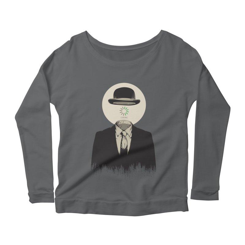 Magritte | The Loading of Man Women's Longsleeve T-Shirt by Gabriel Mihai Artist Shop
