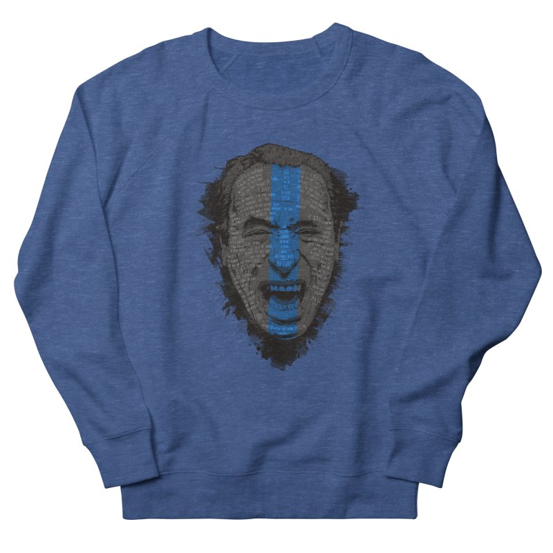 Bukowski | Bluebird Women's Sweatshirt by Gabriel Mihai Artist Shop