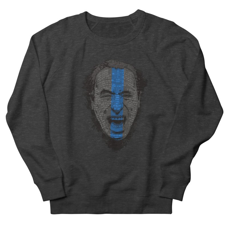 Bukowski | Bluebird Men's French Terry Sweatshirt by Gabriel Mihai Artist Shop