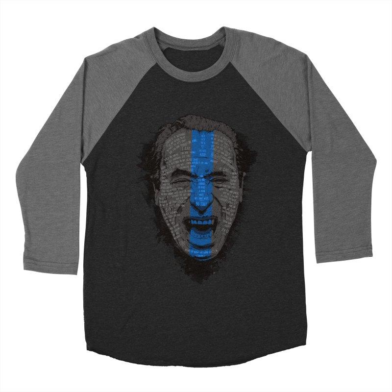 Bukowski   Bluebird Women's Baseball Triblend Longsleeve T-Shirt by Gabriel Mihai Artist Shop