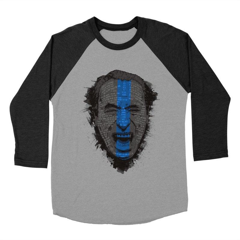 Bukowski | Bluebird Women's Baseball Triblend Longsleeve T-Shirt by Gabriel Mihai Artist Shop