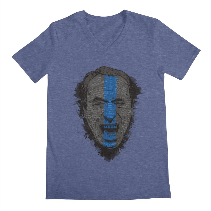 Bukowski | Bluebird Men's Regular V-Neck by Gabriel Mihai Artist Shop