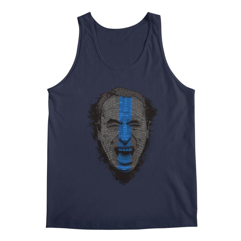 Bukowski | Bluebird Men's Regular Tank by Gabriel Mihai Artist Shop
