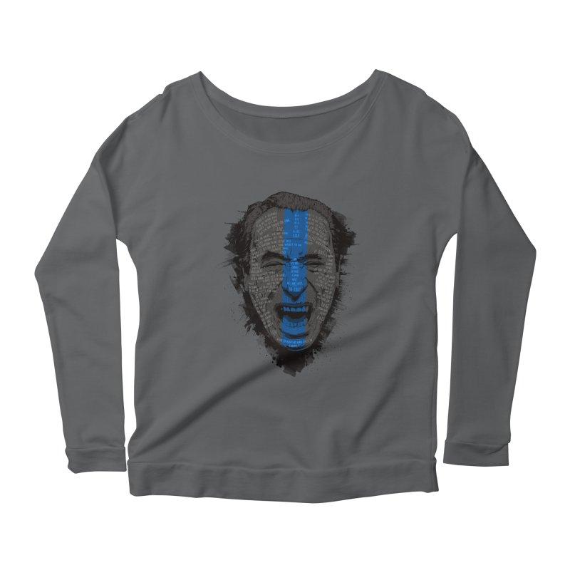 Bukowski | Bluebird Women's Longsleeve T-Shirt by Gabriel Mihai Artist Shop
