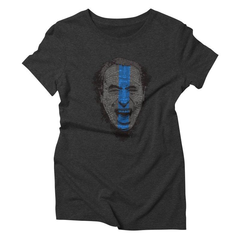 Bukowski | Bluebird Women's Triblend T-Shirt by Gabriel Mihai Artist Shop