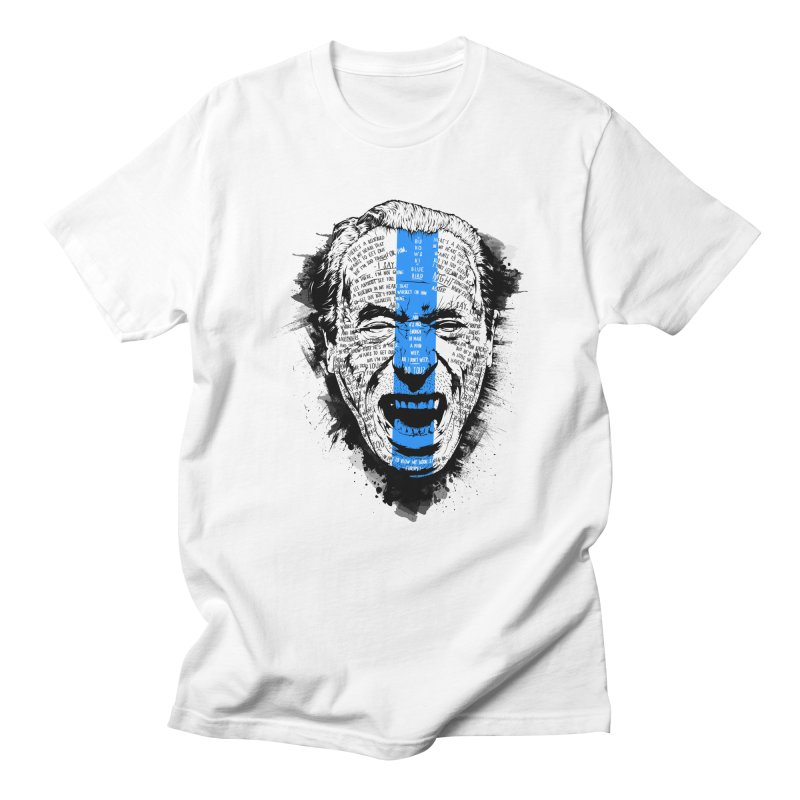 Bukowski | Bluebird v2 Men's T-Shirt by Gabriel Mihai Artist Shop