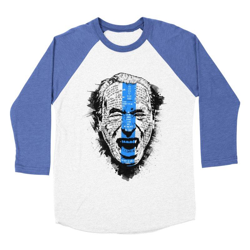 Bukowski | Bluebird v2 Men's Baseball Triblend Longsleeve T-Shirt by Gabriel Mihai Artist Shop