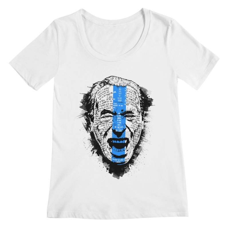 Bukowski | Bluebird v2 Women's Regular Scoop Neck by Gabriel Mihai Artist Shop