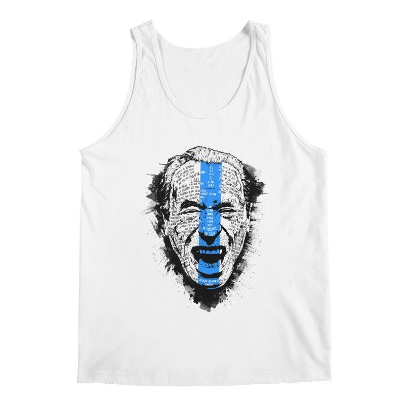 Bukowski | Bluebird v2 Men's Tank by Gabriel Mihai Artist Shop