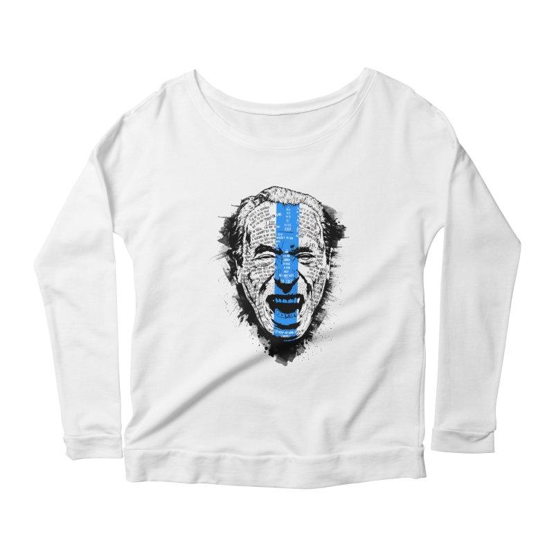 Bukowski | Bluebird v2 Women's Longsleeve T-Shirt by Gabriel Mihai Artist Shop