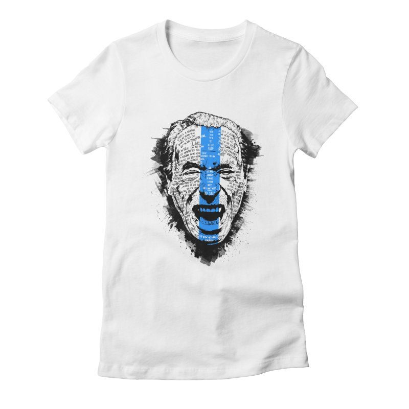 Bukowski | Bluebird v2 Women's T-Shirt by Gabriel Mihai Artist Shop