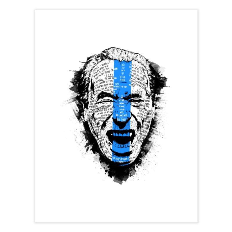 Bukowski | Bluebird v2 Home Fine Art Print by Gabriel Mihai Artist Shop