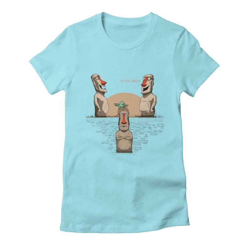 U mud bro? Women's T-Shirt by Gabriel Mihai Artist Shop