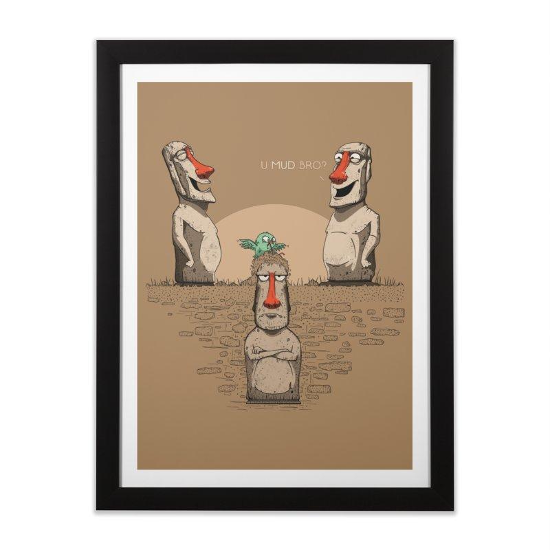 U mud bro? Home Framed Fine Art Print by Gabriel Mihai Artist Shop
