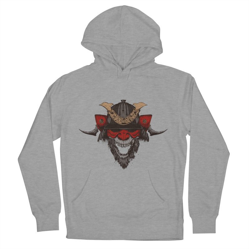 Samurai Men's French Terry Pullover Hoody by Gabriel Mihai Artist Shop