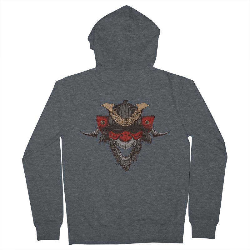 Samurai Women's Zip-Up Hoody by Gabriel Mihai Artist Shop