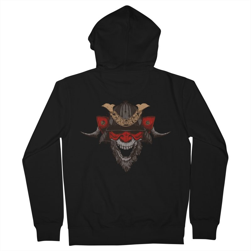 Samurai Men's Zip-Up Hoody by Gabriel Mihai Artist Shop