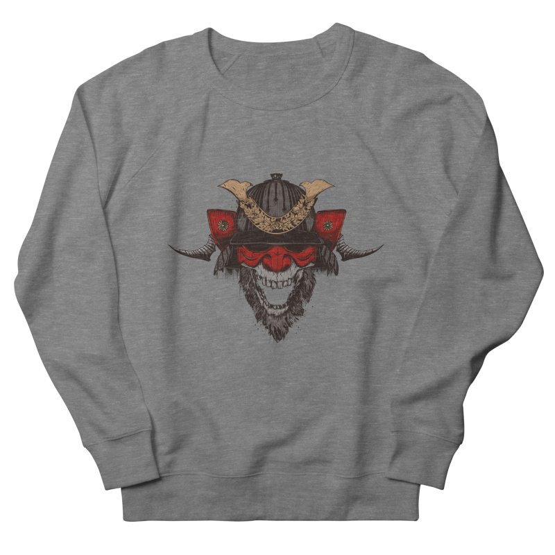 Samurai Men's French Terry Sweatshirt by Gabriel Mihai Artist Shop