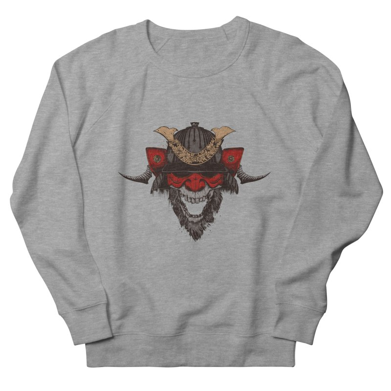 Samurai Men's French Terry Sweatshirt by Gabriel Mihai Artist Shop