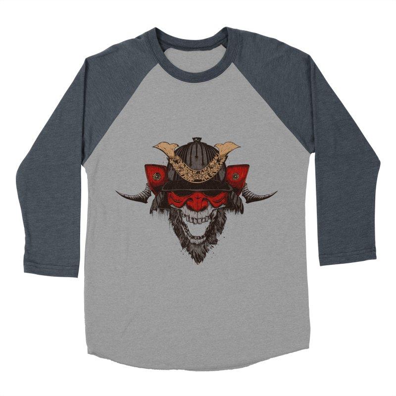 Samurai Men's Baseball Triblend Longsleeve T-Shirt by Gabriel Mihai Artist Shop