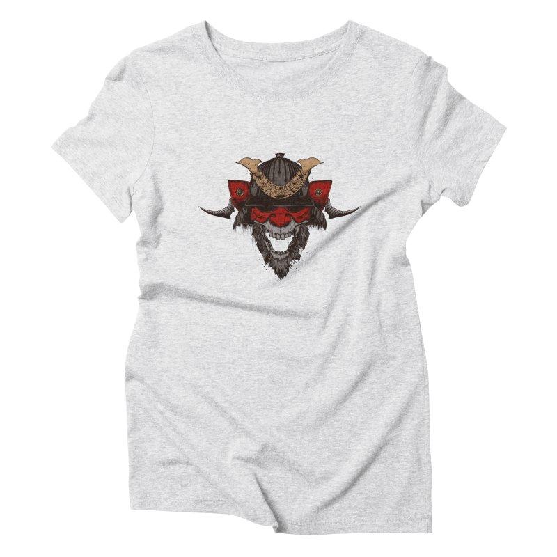 Samurai Women's T-Shirt by Gabriel Mihai Artist Shop