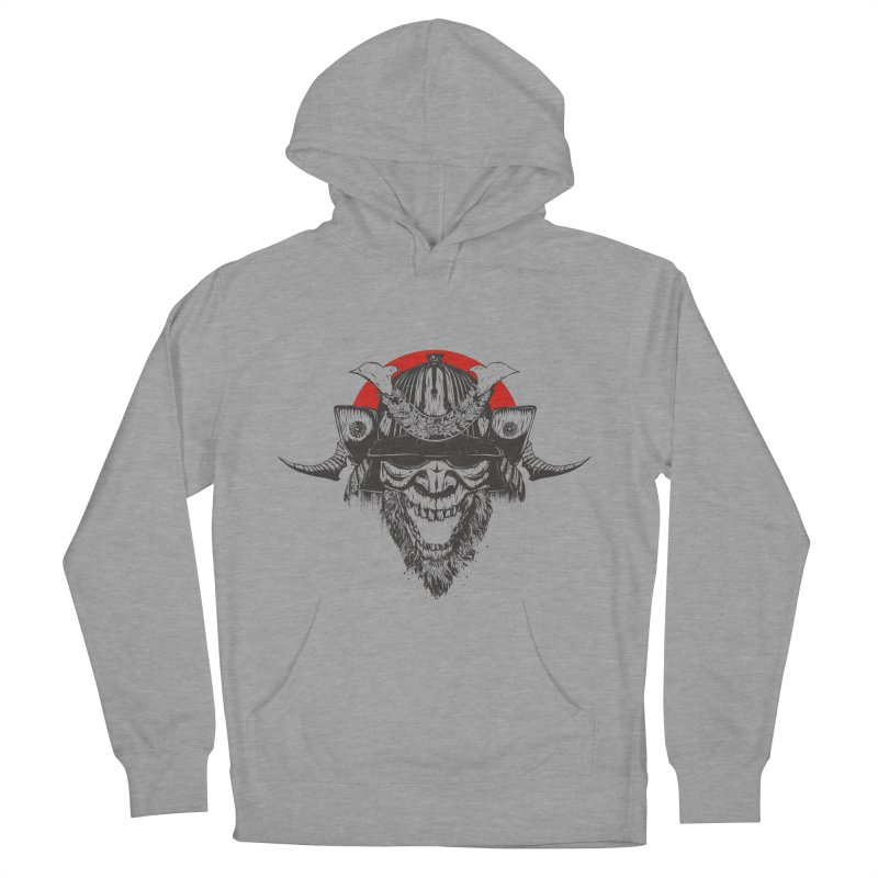 Samurai v2 Women's French Terry Pullover Hoody by Gabriel Mihai Artist Shop