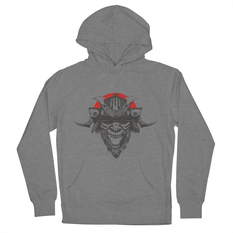 Samurai v2 Men's French Terry Pullover Hoody by Gabriel Mihai Artist Shop