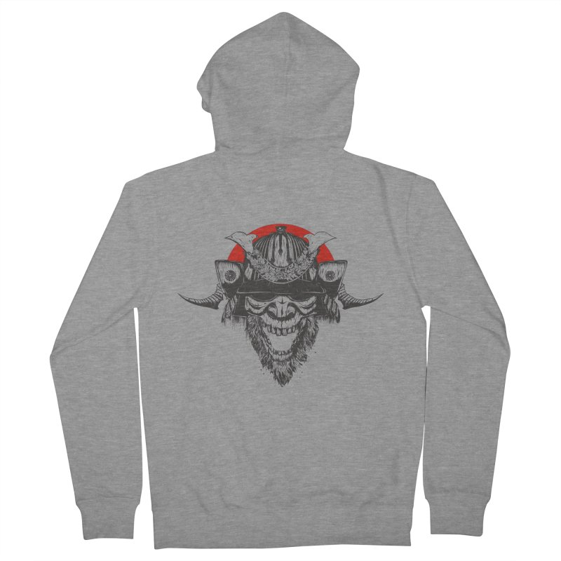 Samurai v2 Men's Zip-Up Hoody by Gabriel Mihai Artist Shop