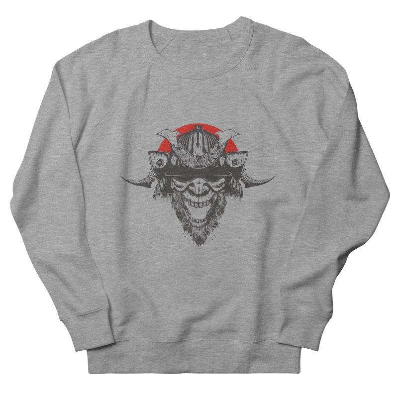 Samurai v2 Women's French Terry Sweatshirt by Gabriel Mihai Artist Shop