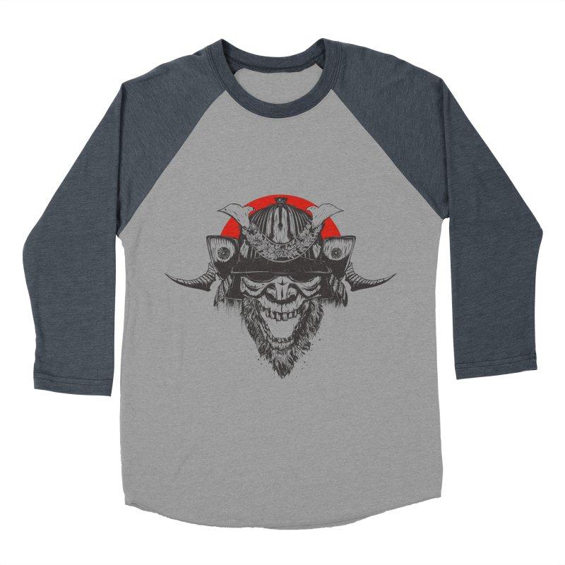 Samurai v2 Men's Baseball Triblend T-Shirt by Gabriel Mihai Artist Shop