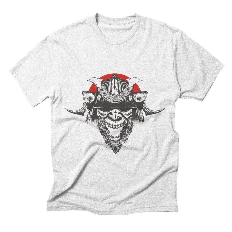 Samurai v2 Men's Triblend T-shirt by Gabriel Mihai Artist Shop