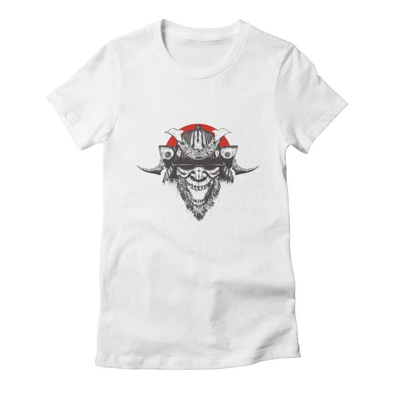 Samurai v2 Women's T-Shirt by Gabriel Mihai Artist Shop