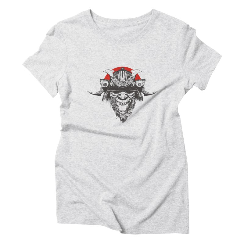 Samurai v2 Women's Triblend T-Shirt by Gabriel Mihai Artist Shop