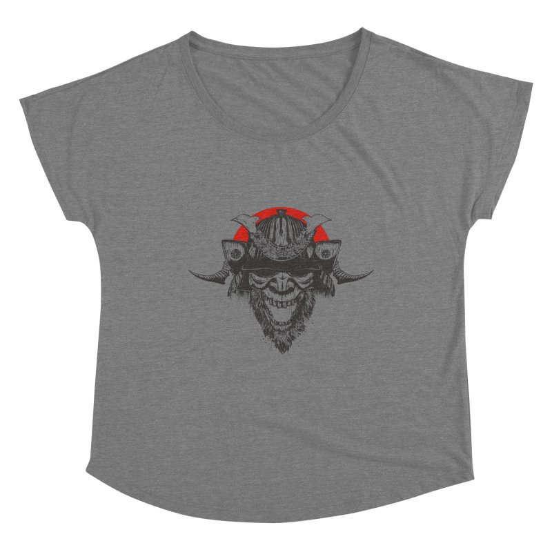 Samurai v2 Women's Scoop Neck by Gabriel Mihai Artist Shop