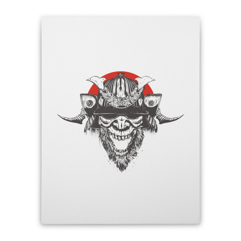 Samurai v2 Home Stretched Canvas by Gabriel Mihai Artist Shop