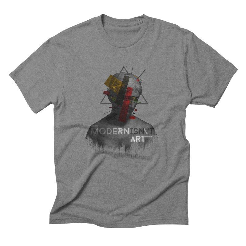 Modernisn't Art Men's T-Shirt by Gabriel Mihai Artist Shop